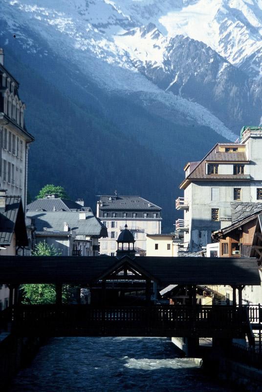 Chamonix i Mt. Blanc