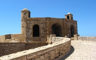 Fort Skala de la Ville wybudowany przez Portugalczyków