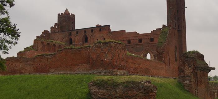 Radzyń Chełmiński - zamek krzyżacki