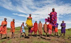 Kenia - Masajowie