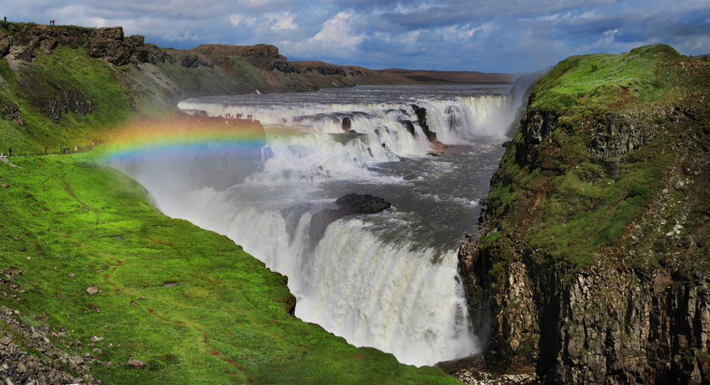 Islandia, Gullfoss