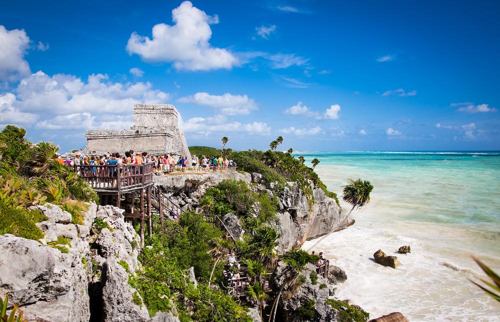 Tulum na Jukatanie w Meksyku