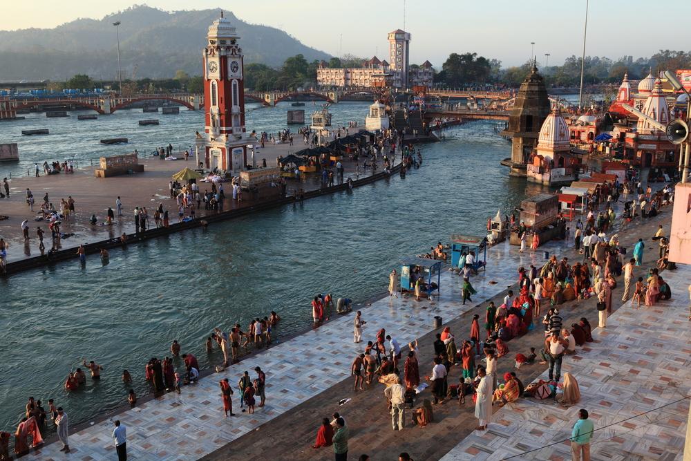 Haridwar to jedno ze świętych miast Indii
